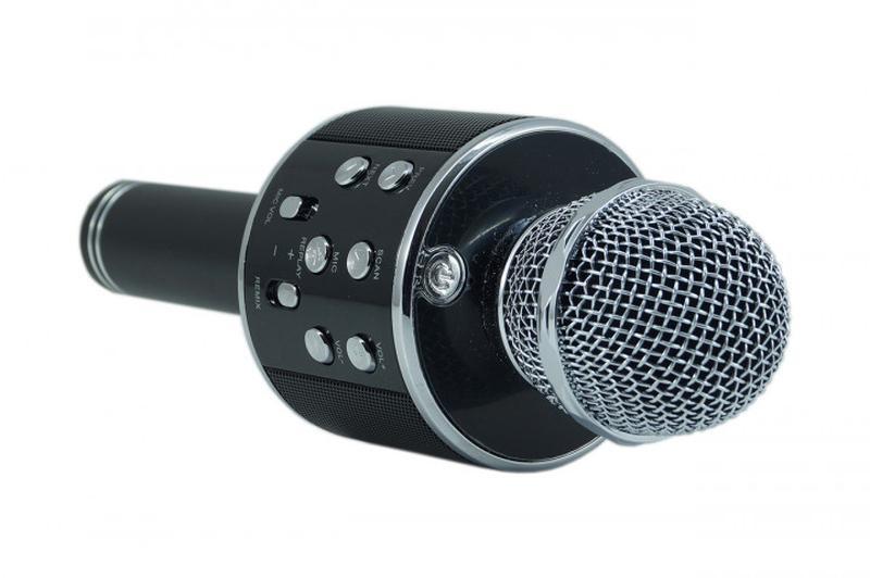 Микрофон для караоке W-858 (USB/Bluetooth) - Фото 2