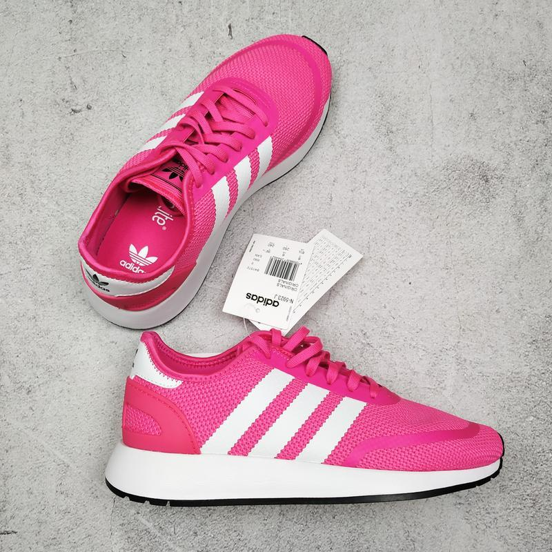 Оригинал розовые кроссовки adidas originals n-5923 uk 6, 39 1/...