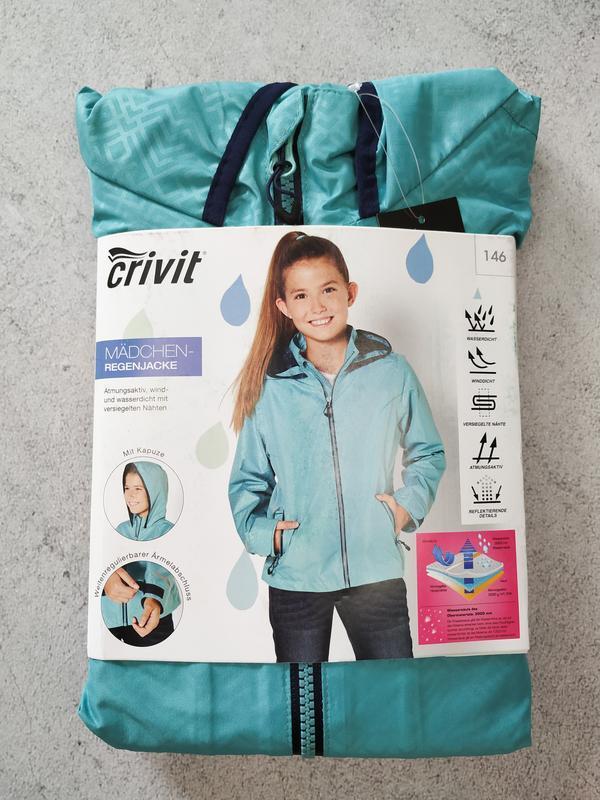 Куртка для девочки crivit дождевик - Фото 4