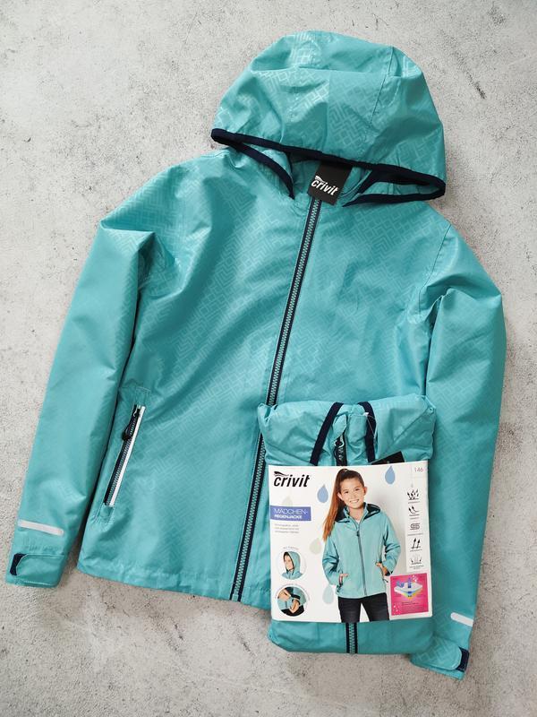 Куртка для девочки crivit дождевик - Фото 6