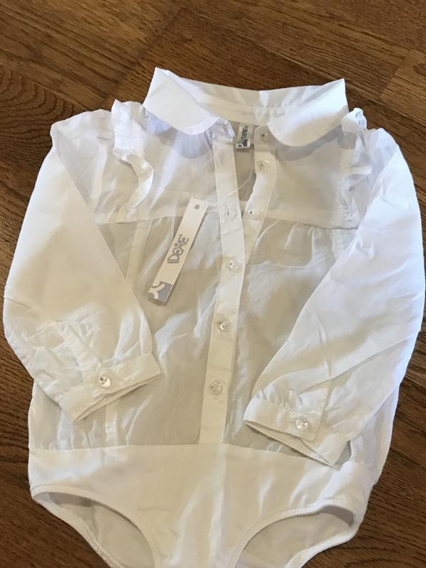 Рубашка боди idexe  на 12 мес - Фото 3