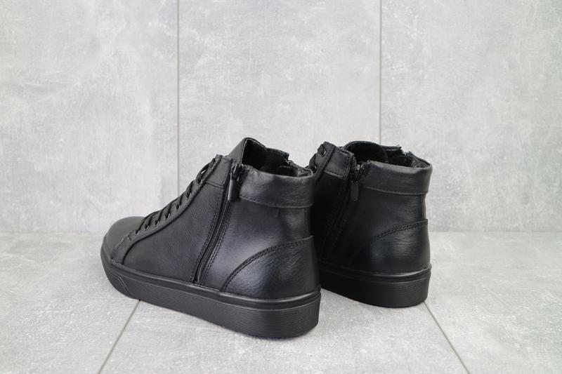 Мужские кожаные зимние ботинки - Фото 2