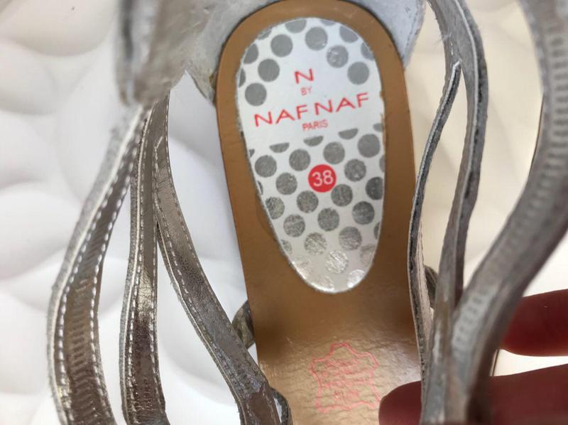 Босоножки naf naf в наличии 39 р кожа оригинал распроджажа уценка - Фото 8
