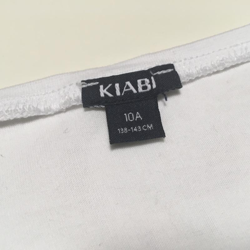 Белый реглан с паетками киаби р.10 - Фото 2