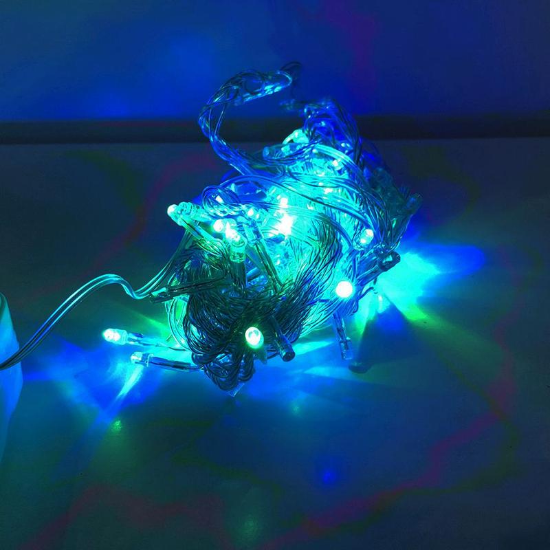 Гирлянда-нить (String-Lights) внутренняя 100M-1 разноцветная - Фото 2