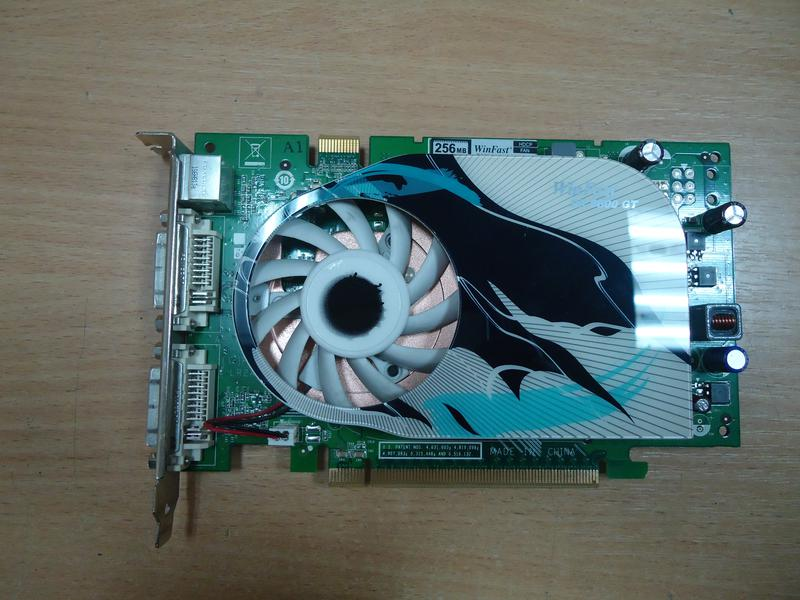 Видеокарта GeForce 8600 GT 128 bit DDR3