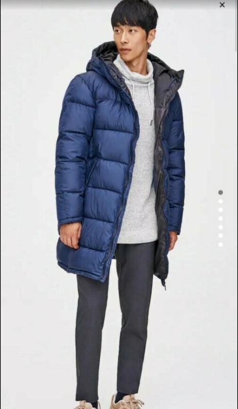 Зимняя мужская куртка pull&bear - Фото 2