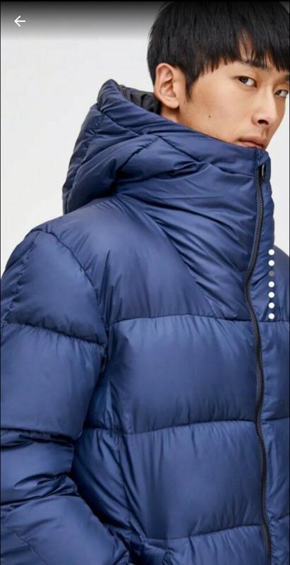 Зимняя мужская куртка pull&bear - Фото 3