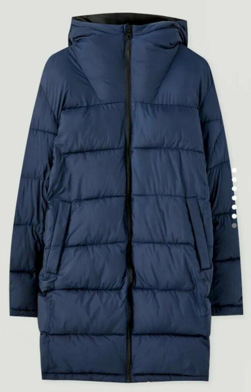 Зимняя мужская куртка pull&bear - Фото 4