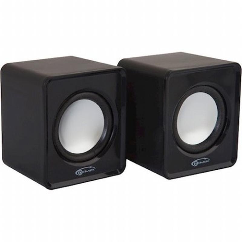 Компьютерная акустика GEMIX Mini Black - Фото 2