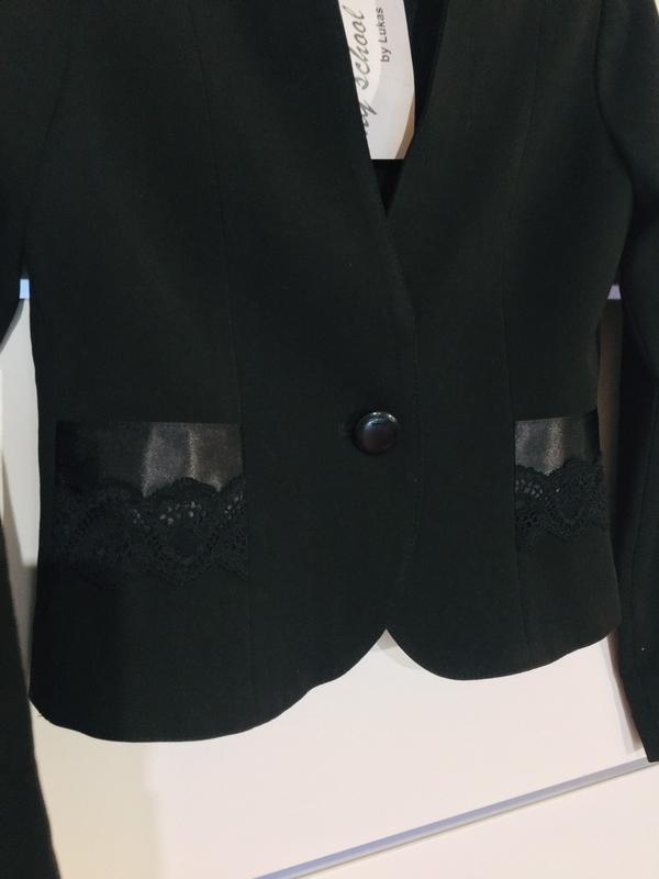 Школьный пиджак жакет для девочки тм lukas - Фото 3