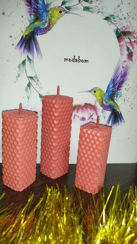 Свеча, набор свеч (3шт)