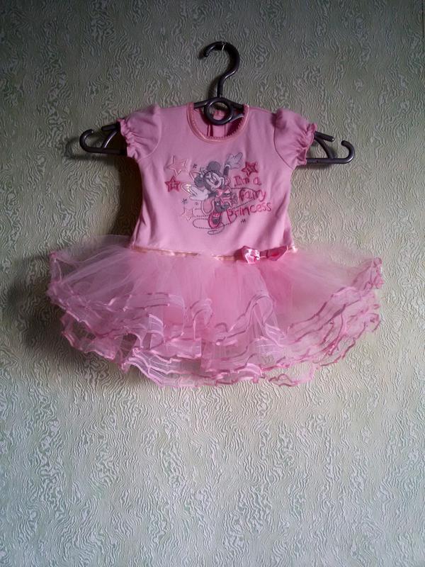 Боди-платье matalan disney для малышки - Фото 2