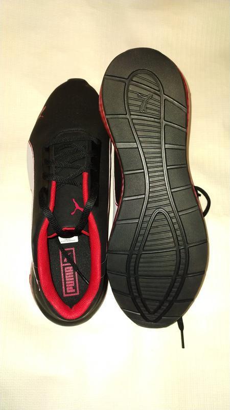 Мужские кроссовки puma ferrari sf cell ultimate, черные, 44.5 ... - Фото 7
