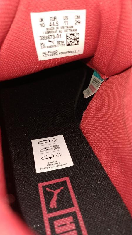 Мужские кроссовки puma ferrari sf cell ultimate, черные, 44.5 ... - Фото 9