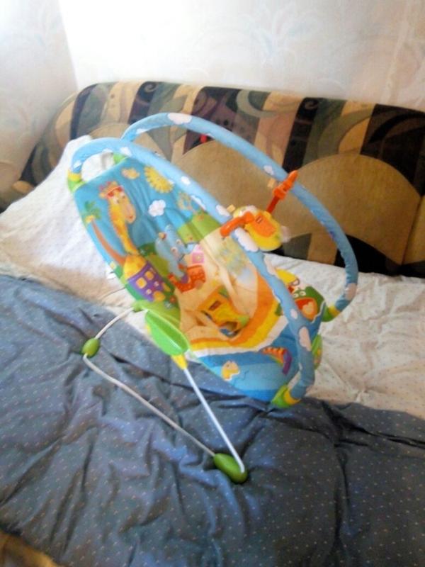 Детский шезлонг-качалка - Фото 3