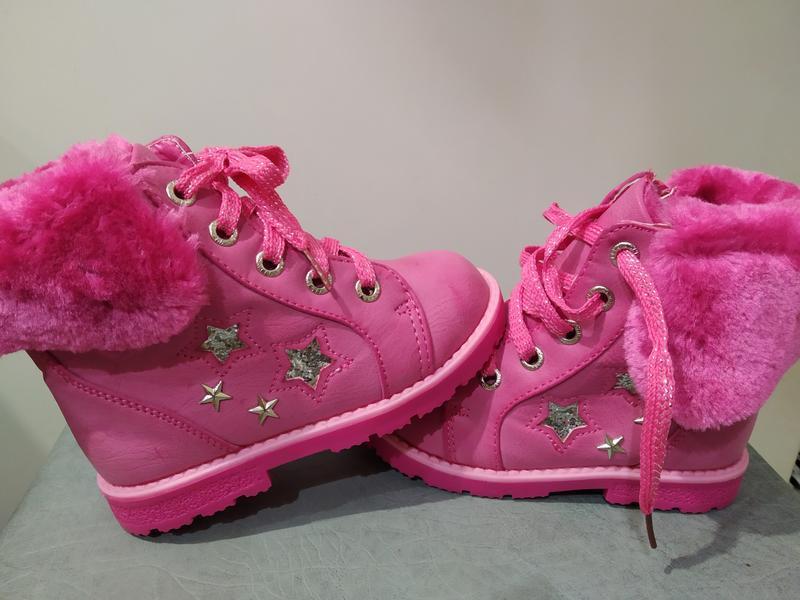 Акция!!!теплые ботиночки для девочки y-top
