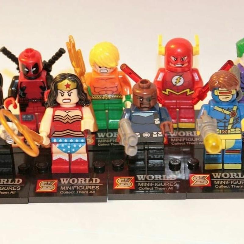 Набор фигурок Супер героев - Фото 2