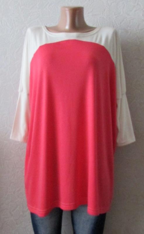 Туника футболка ларси, большой размер недорого!