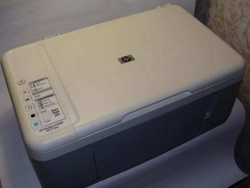 МФУ HP F2280 + СНПЧ H121CN-4.5nc