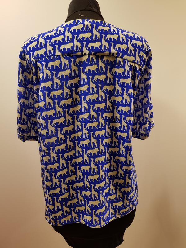 Блуза с гонконга la roseraie - Фото 2