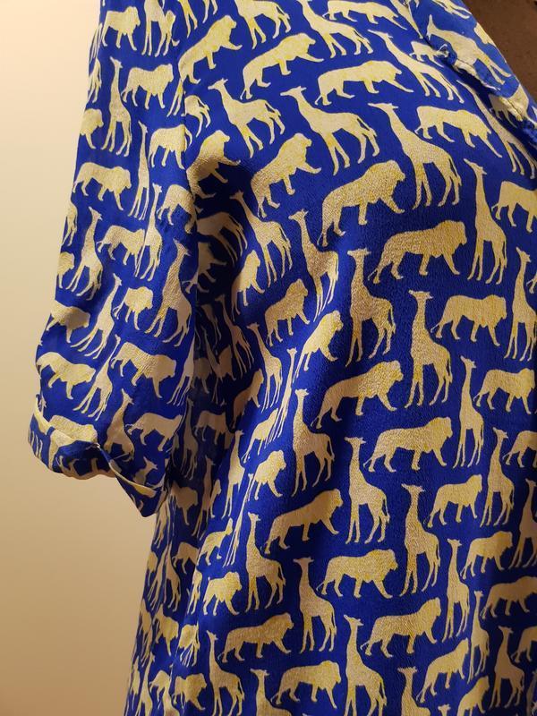Блуза с гонконга la roseraie - Фото 3