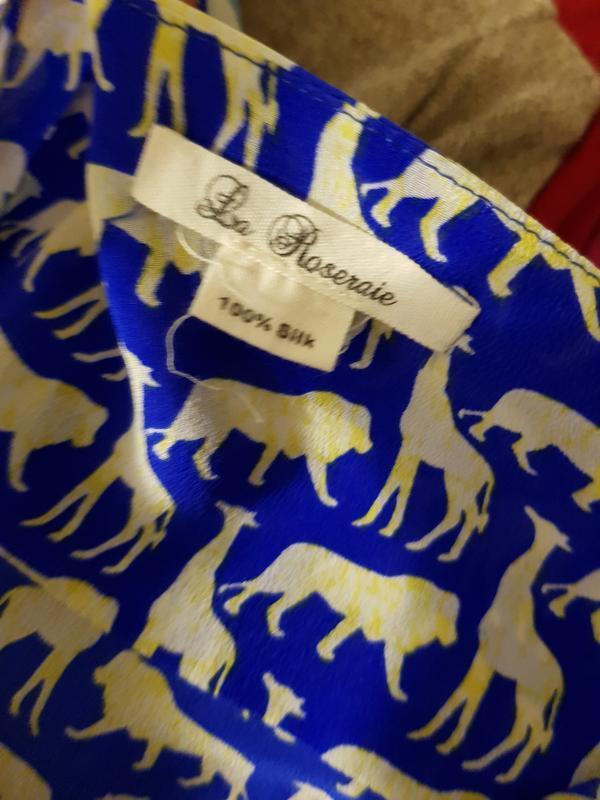 Блуза с гонконга la roseraie - Фото 4