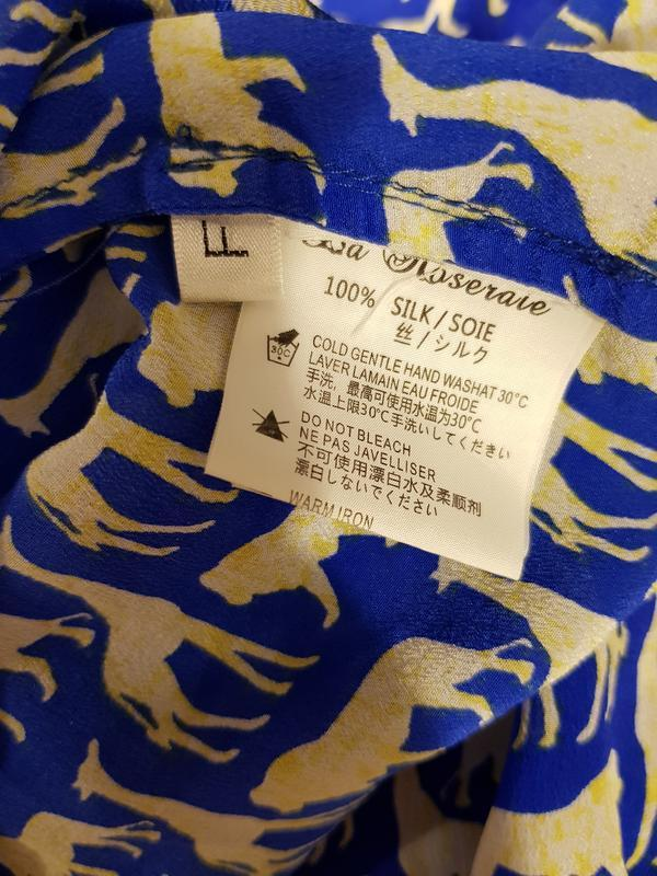 Блуза с гонконга la roseraie - Фото 5