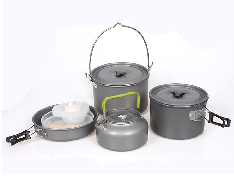 Набор туристической посуды HALIN (3-5 человек) DS-700