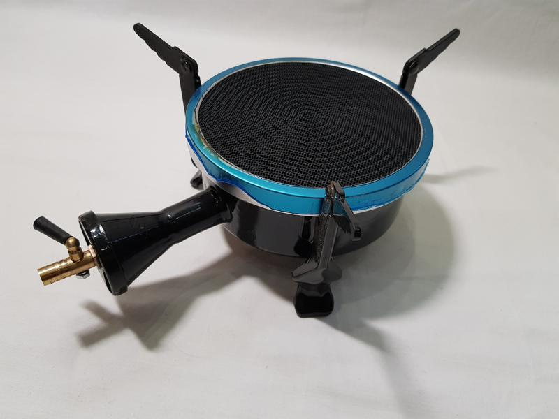 Газовая плита обогреватель STOKS с металлокерамической горелкой