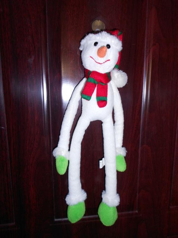 Игрушка подвеска снеговик Tiger - Фото 5