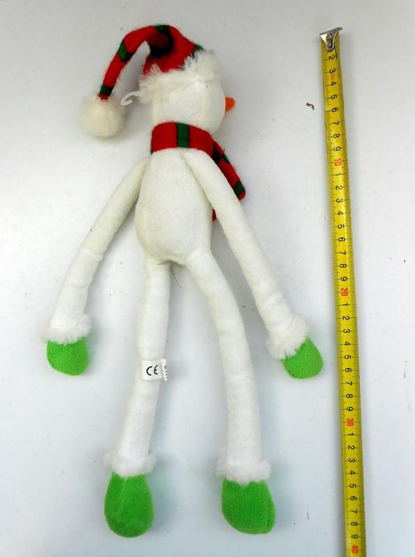 Игрушка подвеска снеговик Tiger - Фото 3