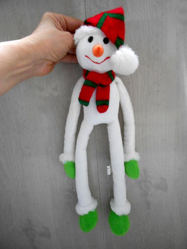 Игрушка подвеска снеговик Tiger
