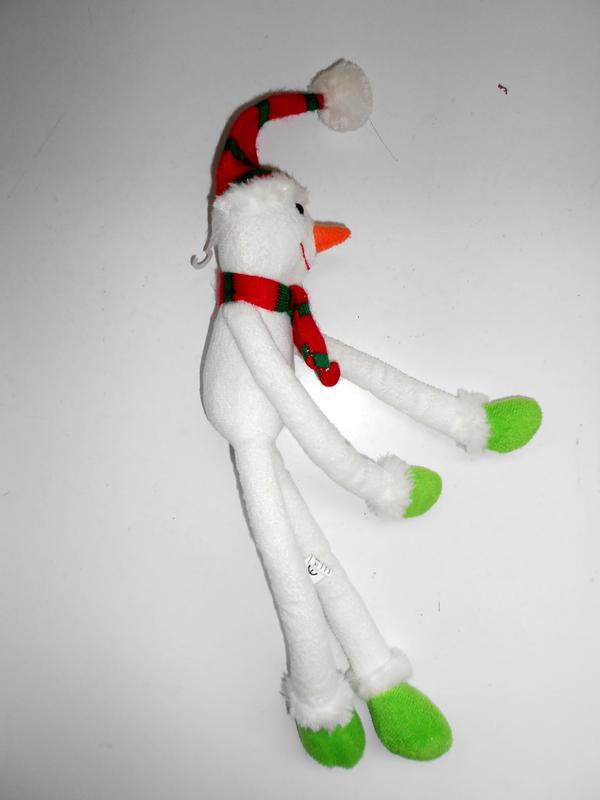 Игрушка подвеска снеговик Tiger - Фото 4