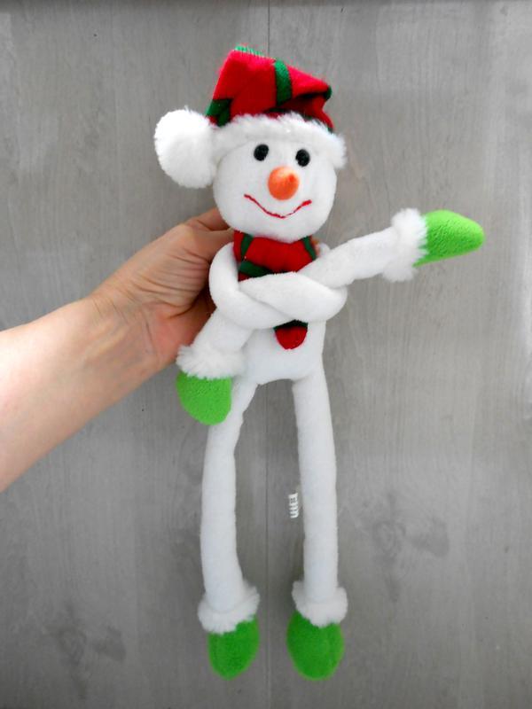 Игрушка подвеска снеговик Tiger - Фото 2