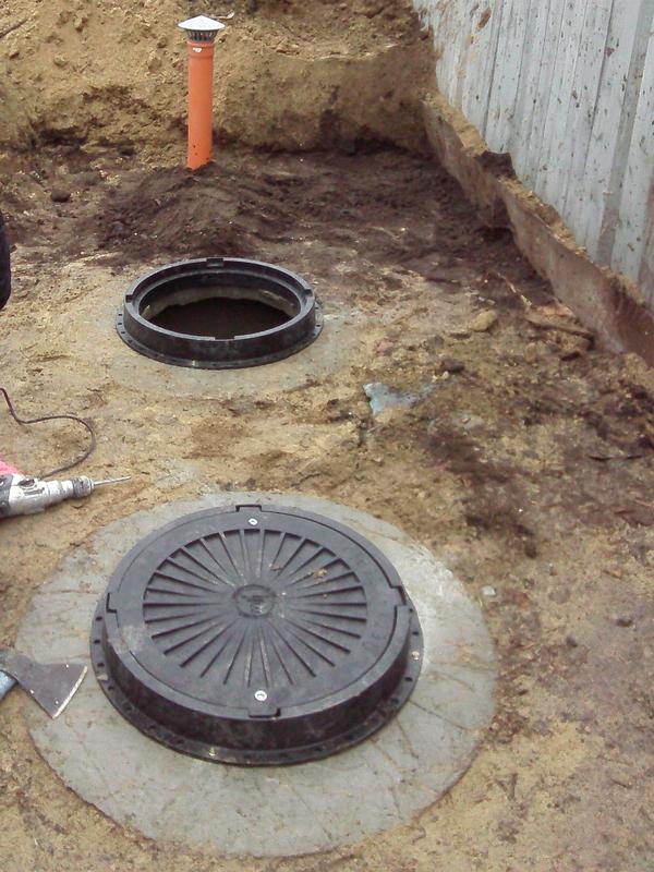 Сливные ямы Септик Колодец Кольца бетонные Уличный туалет