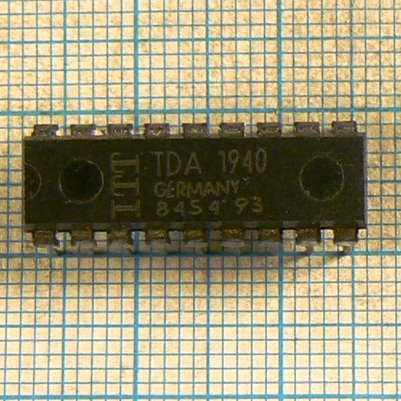 Микросхемы TDA1940