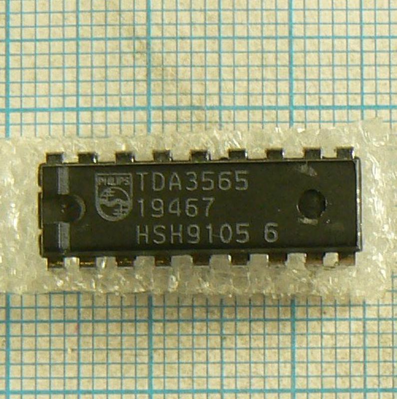 Микросхемы TDA3565