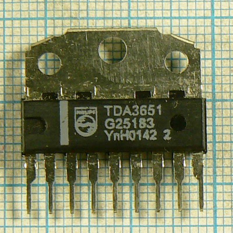 Микросхемы TDA3651