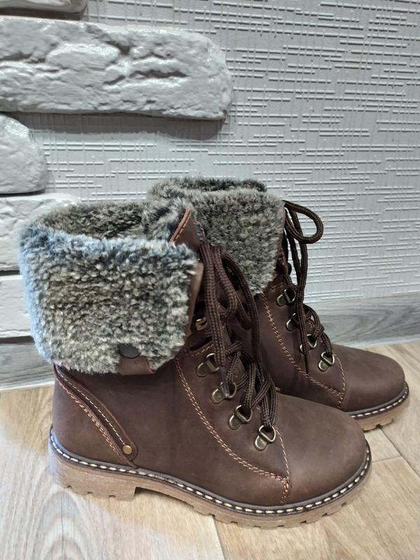 Новые зимние ботинки welis