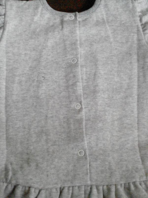 Платье начес (футер) - Фото 4