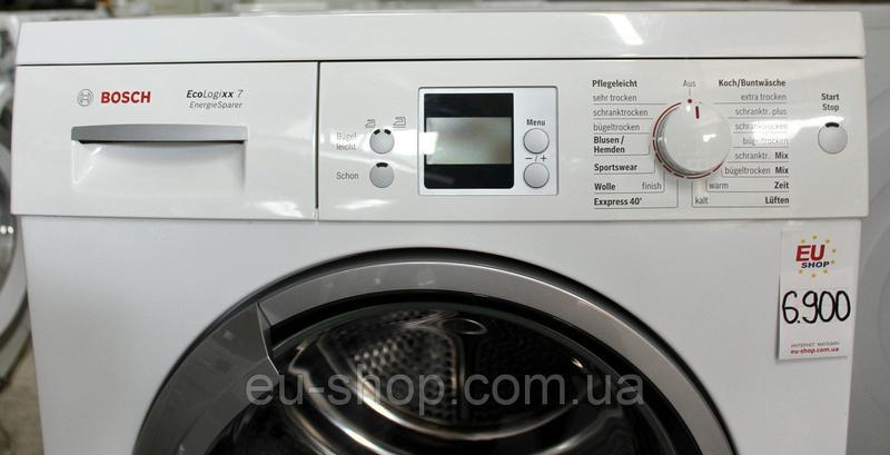 Сушильная машина конденсационная Bosch WTW86570 7 кг А+ б/у