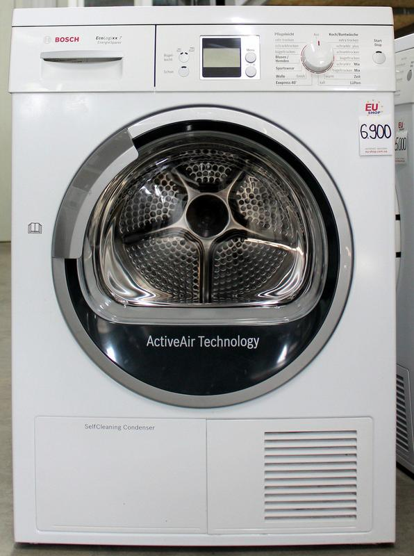 Сушильная машина конденсационная Bosch WTW86570 7 кг А+ б/у - Фото 4