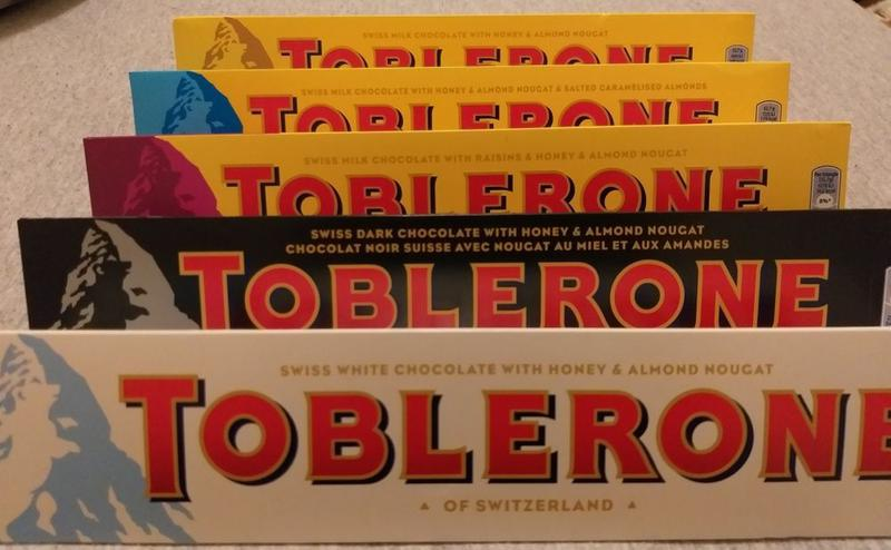 Шоколад Toblerone 360г