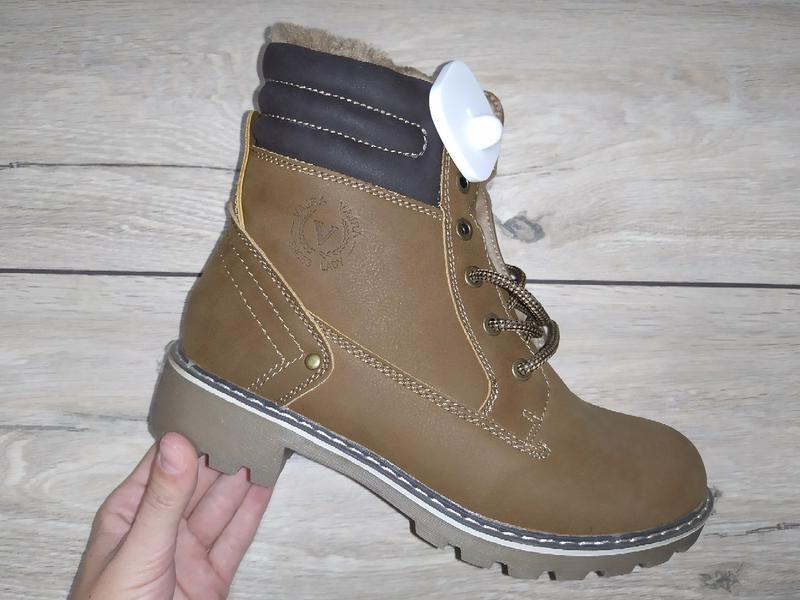 Зимние женские ботинки зима низкий ход жіночі полуботинки