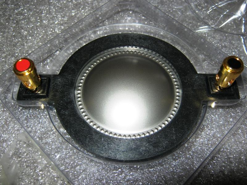 44.4 Ремкомплект MAG MEM M112 мембрана звукова катушка ВЧ драйвер