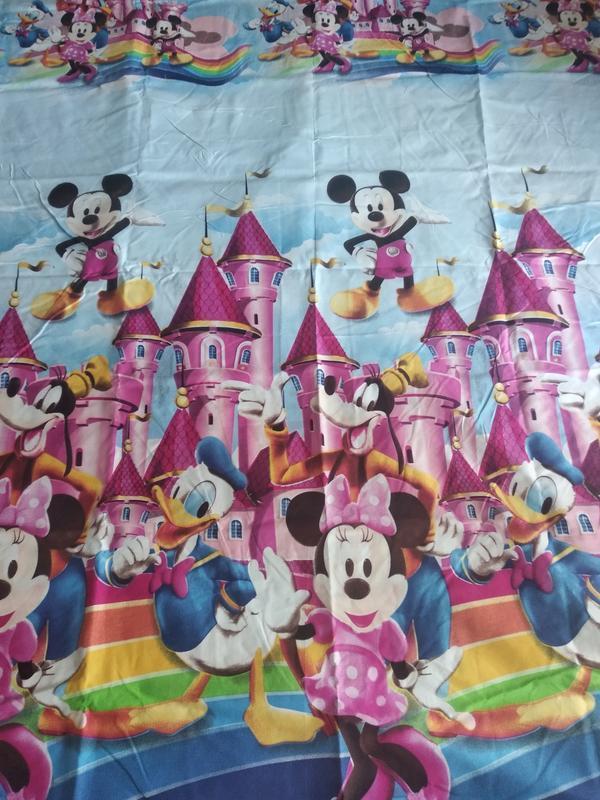 Детский комплект постельного белья из сатина - Фото 2