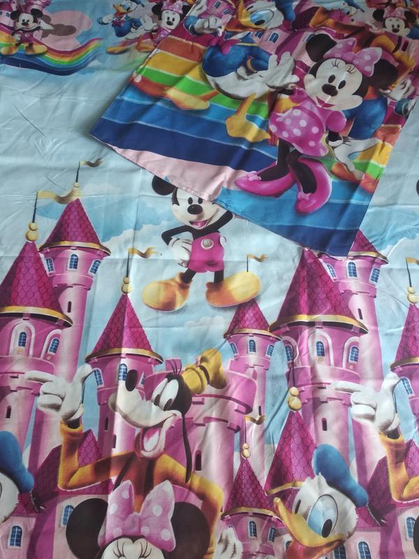 Детский комплект постельного белья из сатина - Фото 6