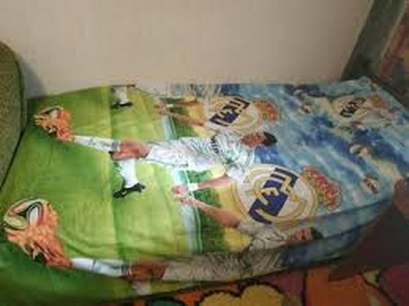"""Детский полуторный комплект постельного белья """" криштиан ронал... - Фото 2"""