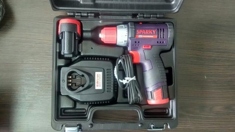 Аккумуляторный шуруповерт Sparky BR2 12Li-C HD (Новый с гарант...